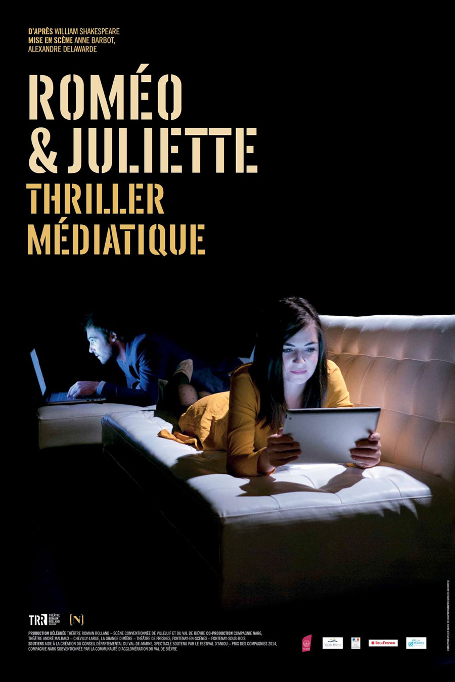 Affiche Romeo & Juliette, Thriller médiatique