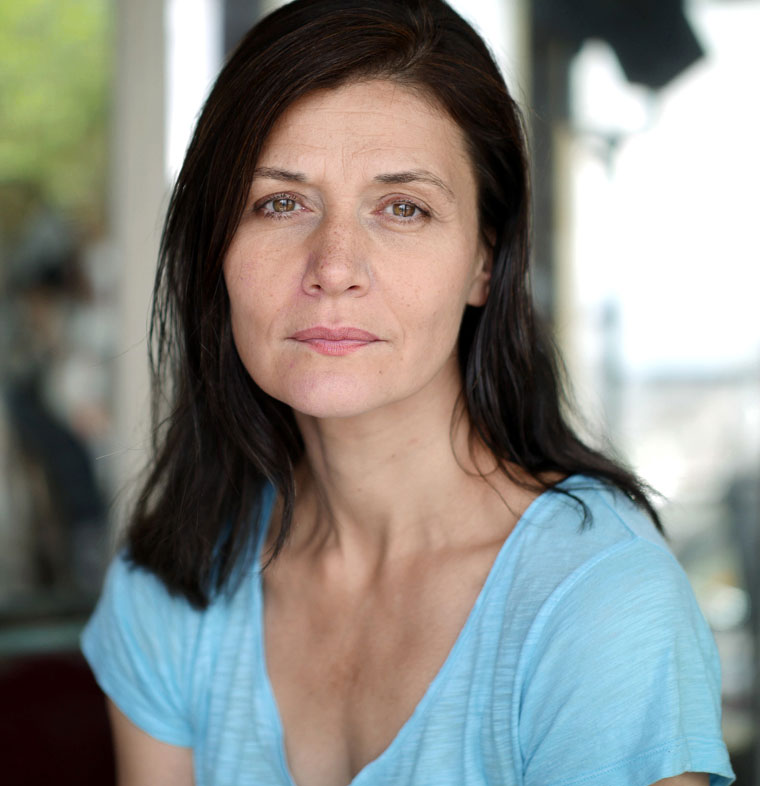 Marie-Céline Tuvache, comédienne © Photo Olivier Allard